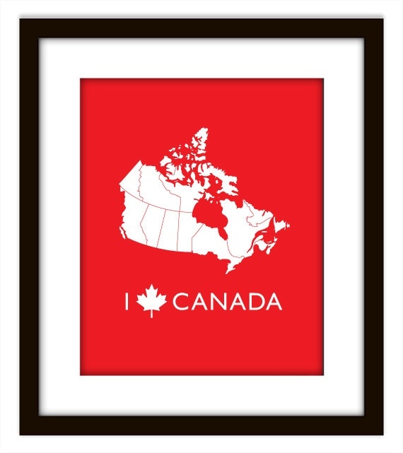 I ♥ Canada. I am Canadian.