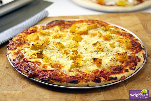 Pumpkin & Feta Pizza