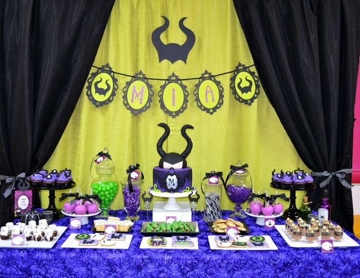 """Maleficent / Birthday """"Maleficent Party"""" 