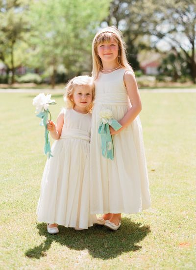 Haint blue charleston wedding by olivia griffin southern for Simple southern wedding dresses