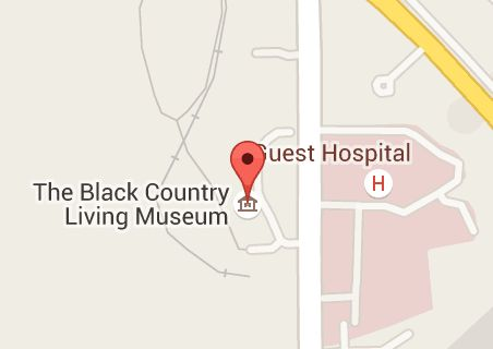 Map of Black Country Living Museum