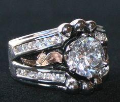 Bob Berg Custom Rings | Designer Bob Berg. Texas western, rodeo, cowboy jewelry. Bridal set ...