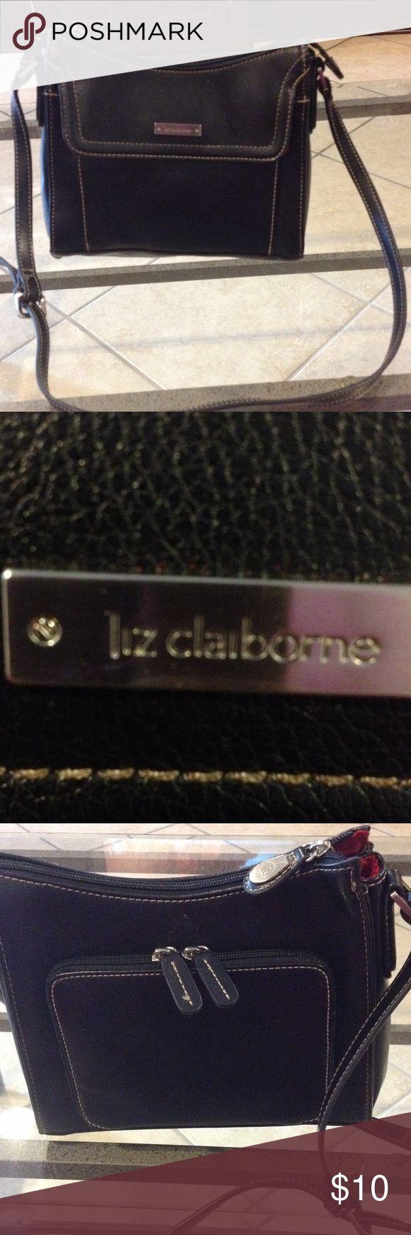 Liz Claiborne black purse good condition Liz Claiborne black purse good condition Liz Claiborne Bags Shoulder Bags