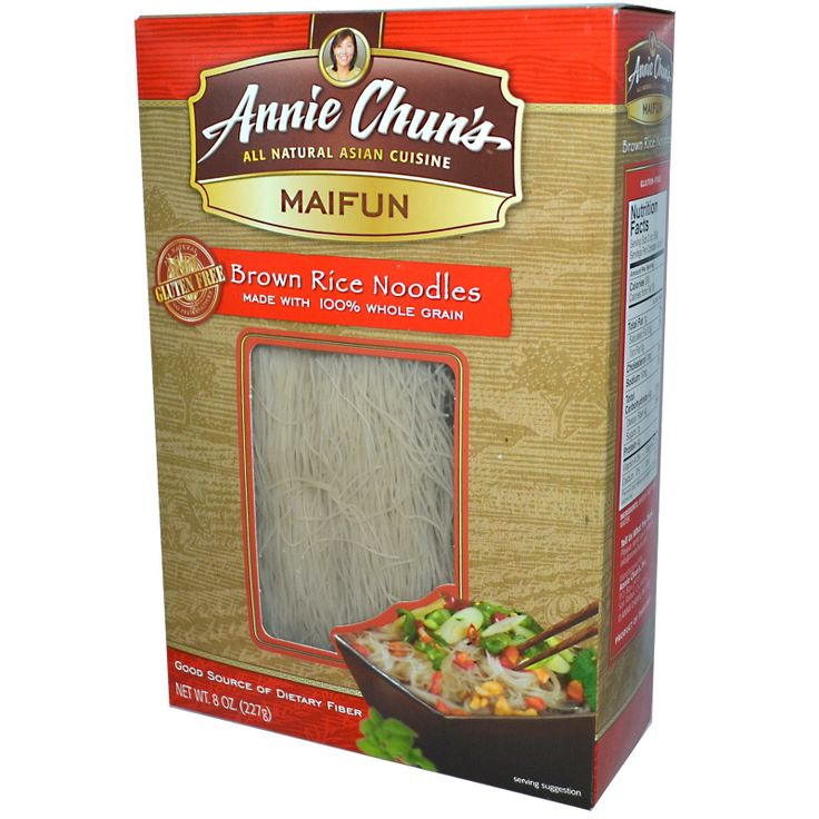 Annie Chuns, Maifun, Brown Rice Noodles, 8 oz (227 g) - iHerb.com