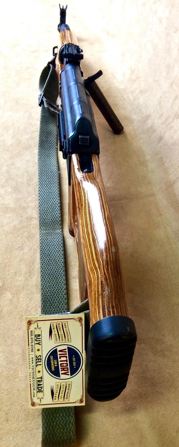 Very Nice Intrac Ratmil CUR2 AK-74 5.45x39 4 Mags   Victory Guns & Guitar Works, LLC