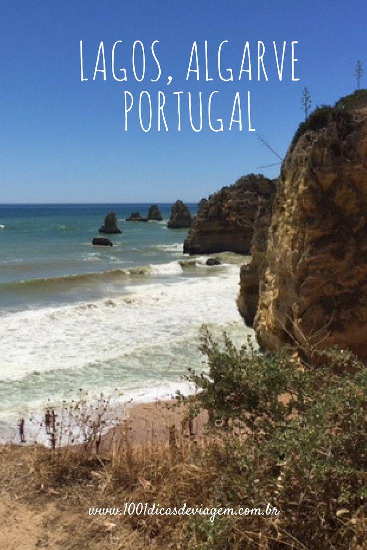 Praia da Dona Ana, em Lagos, Algarve - Portugal, considerada a mais linda do mundo em 2013.