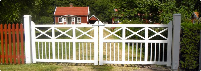 Decimal AB - Handgjorda grindar i gammal svensk stil