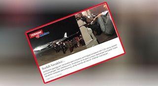 Penumpang mabuk yang cuba rampas pesawat MAS MH128   PESAWAT Malaysia Airlines MH128 yang terpaksa berpatah balik ke Lapangan Terbang Tullamarine di Melbourne semalam berpunca daripada penumpang mabuk yang membuat gangguan.  Timbalan Menteri Pengangkutan Datuk Ab Aziz Kaprawi berkata suspek dipercayai warga Sri Lanka.  Baca artikel sebelum:Susulan cubaan penumpang rampas pesawat MAS lapangan Terbang Tullamarine ditutup  Menurutnya sehingga kini beliau masih belum menerima maklumat sama ada…
