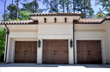 Wooden Garage Doors Design Ideas, Pictures, Remodel, and Decor - page 7