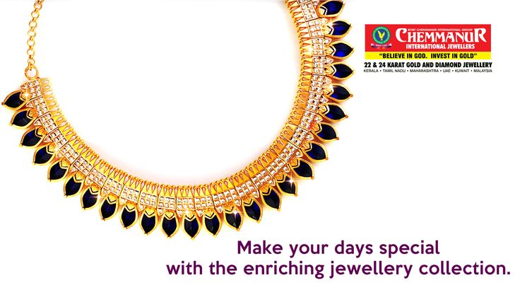 """""""Make Your Days Special With The Enriching Jewellery Collection."""""""