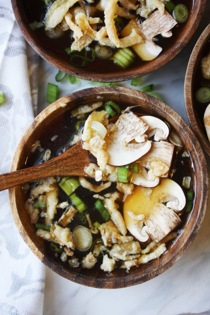 IMG_Hibachi Soup with Mushrooms and Crispy Onions -- TheGarlicDiaries.com