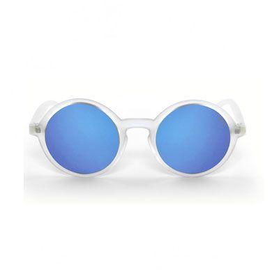 Giulietta Ghiaccio Satinato Specchiato Blu