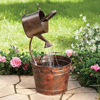17 best images about garden decor on pinterest gardens for Recirculating water feature
