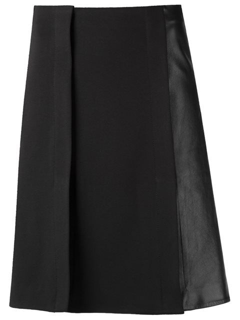 Gloria Coelho flared skirt
