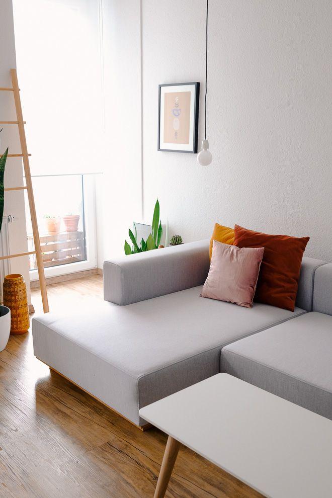 Die besten 25+ Graue sofas Ideen auf Pinterest Graue wände - wohnzimmer grau rot