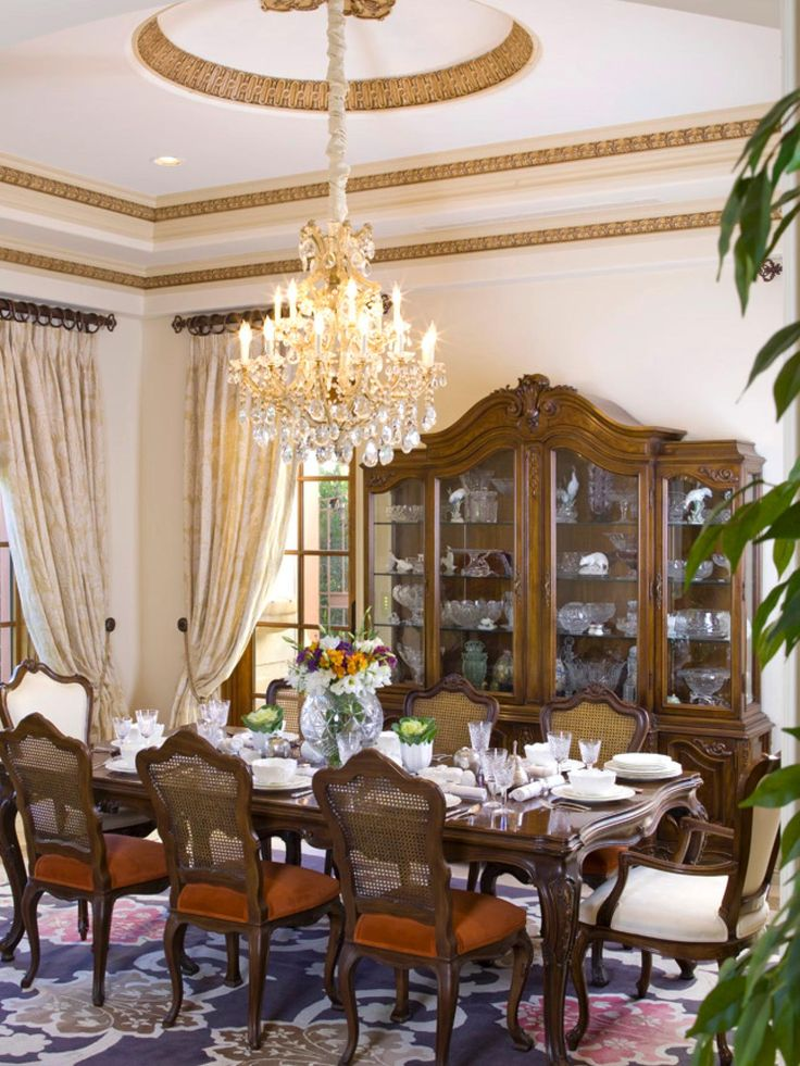 Victorian style dining