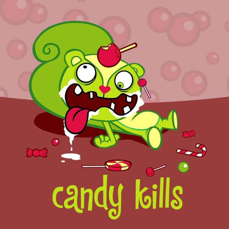 Happy tree friends. This little show is so messed up