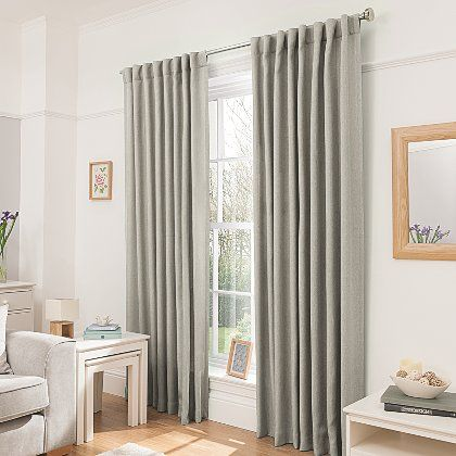 George Home Natural Blackout Curtains | Home & Garden | George at ASDA