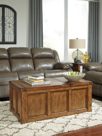 Get Your Tamonie   Medium Brown   Rect Lift Top Cocktail Table At Railway  Freight Furniture, Albany GA Furniture Store.