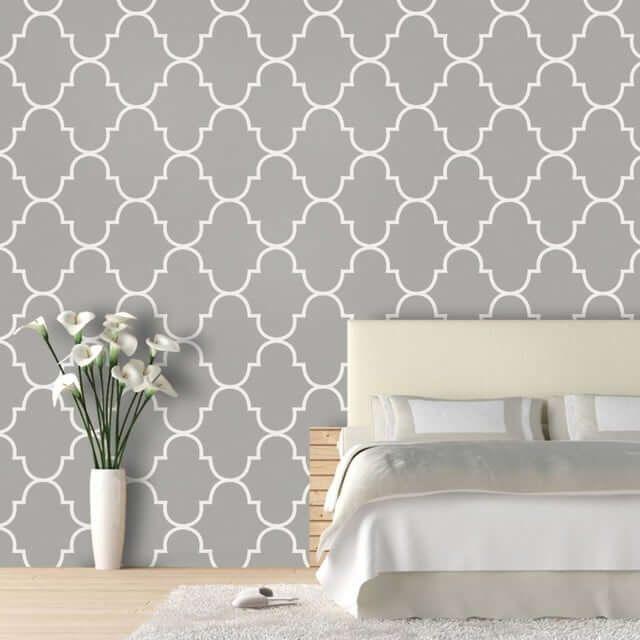 Geniale Diy Wanddeko Ideen Zum Selbermachen Wanddeko Ideen Tapete Grau Tapete Grau Muster