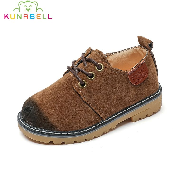 Autumn 2017 Children Casual Shoes Boys Artificial Leather Sheos Girls Fashion Retro British Sneakers Kids Comfortable Shoes C477 #Affiliate