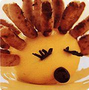 Sausage Hedgehog - great for children's parties.