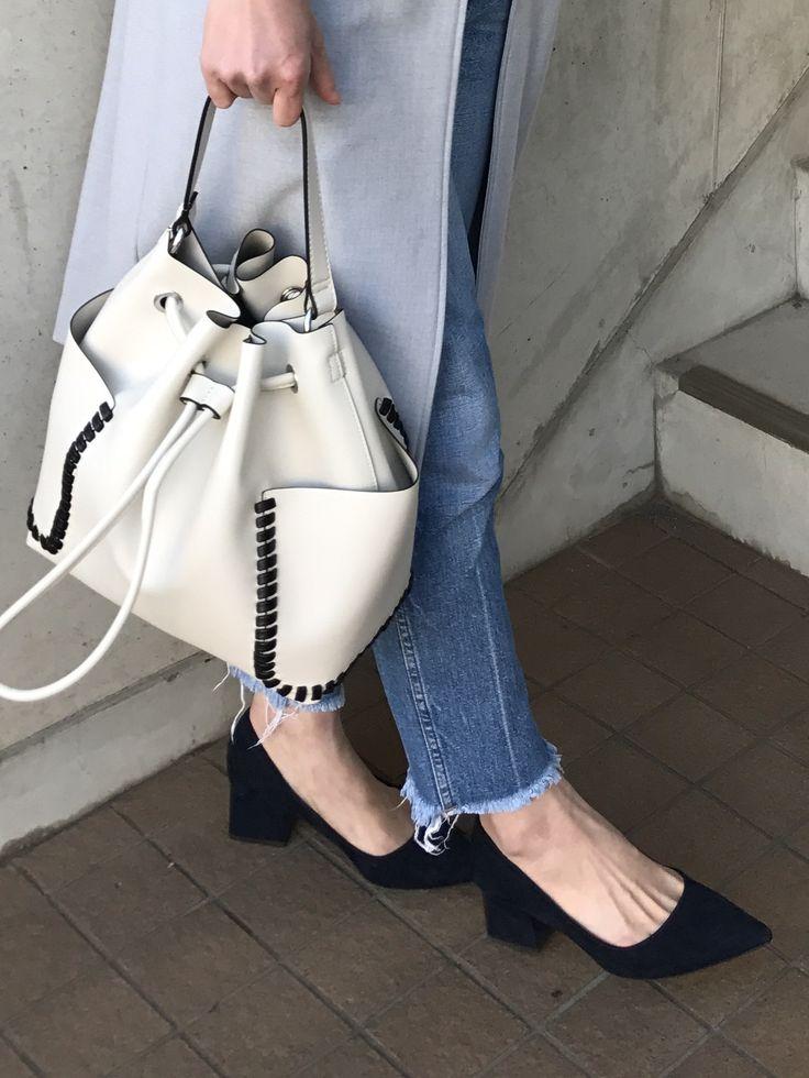 靴もバッグもオール「ZARA」。シーズン初めはZARAからチェック!Marisol ONLINE 女っぷり上々!40代をもっとキレイに。