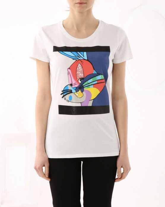 Bugs Bunny T-shirt Iceberg #Iceberg #Tshirt #cartoon #fashion #style #stylish #love #socialenvy #me #cute #photooftheday #beauty #beautiful #instagood #instafashion #pretty #girl
