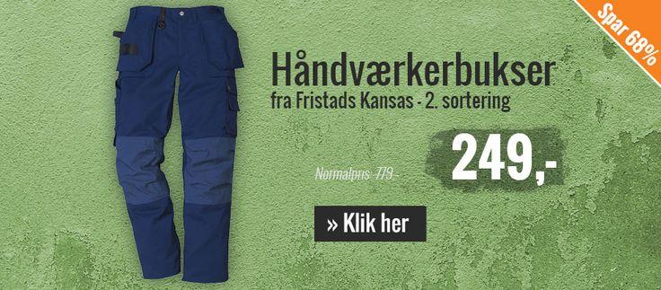 Billig-arbejdstøj.dk: Kansas-arbejdstøj, Mascot-arbejdstøj!