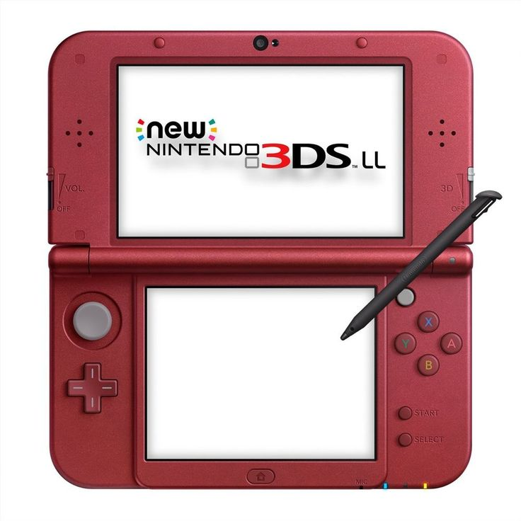 New Nintendo 3DS LL metallic red Japanese