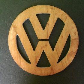 VW logó poháralátét