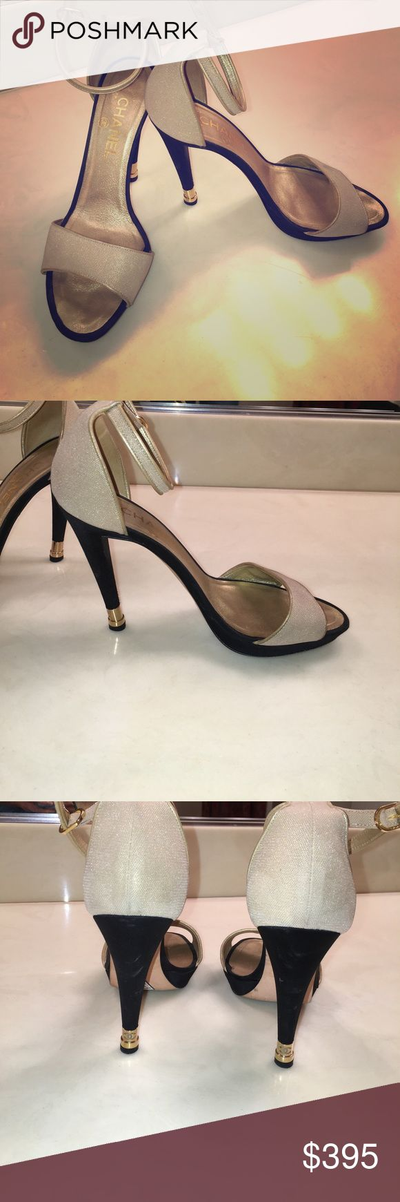 Rare Chanel pumps Gently worn Chanel pumps, size 39 CHANEL Shoes Heels