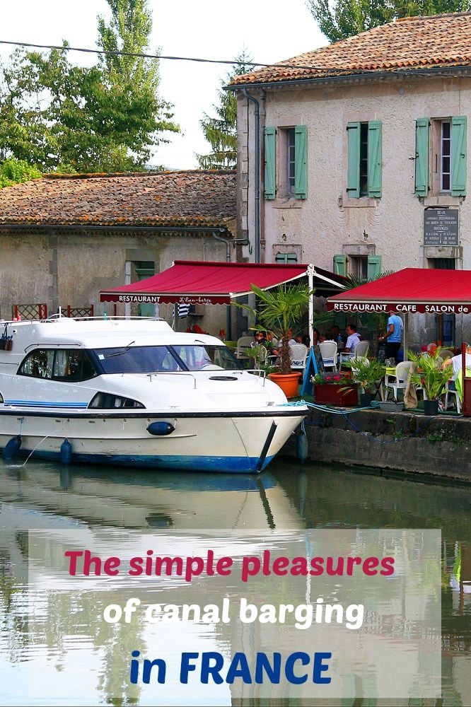 How to enjoy a leisurely meander by barge along France's Canal du Midi.  #France #barge #canal #adventure #travel
