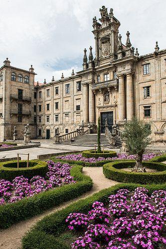 Spain Travel Inspiration - Santiago de Compostela, Galicia, Spain.