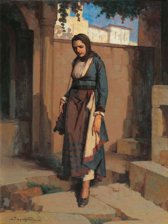 Γεραλής Απόστολος-Στο μοναστήρι