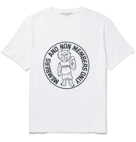STELLA MCCARTNEY Printed Cotton-Jersey T-Shirt. #stellamccartney #cloth #t-shirts