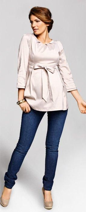 Camasa pentru femei insarcinate si mamici superbe... moderna, eleganta si feminina, fabricata dintr-un material soft, usor glossy.