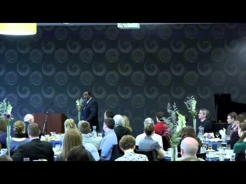 Alan Keyes gives a presentation at Spring Arbor University #springarborMI