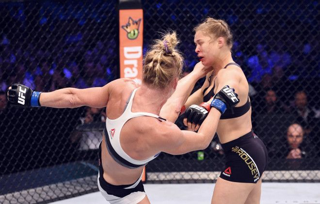 Holly Holm Kicked Ronda Rousey With 50 Pounds of Force Says Science