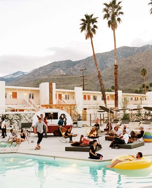Show off your desert style at the Ace Hotel / Palm Springs.
