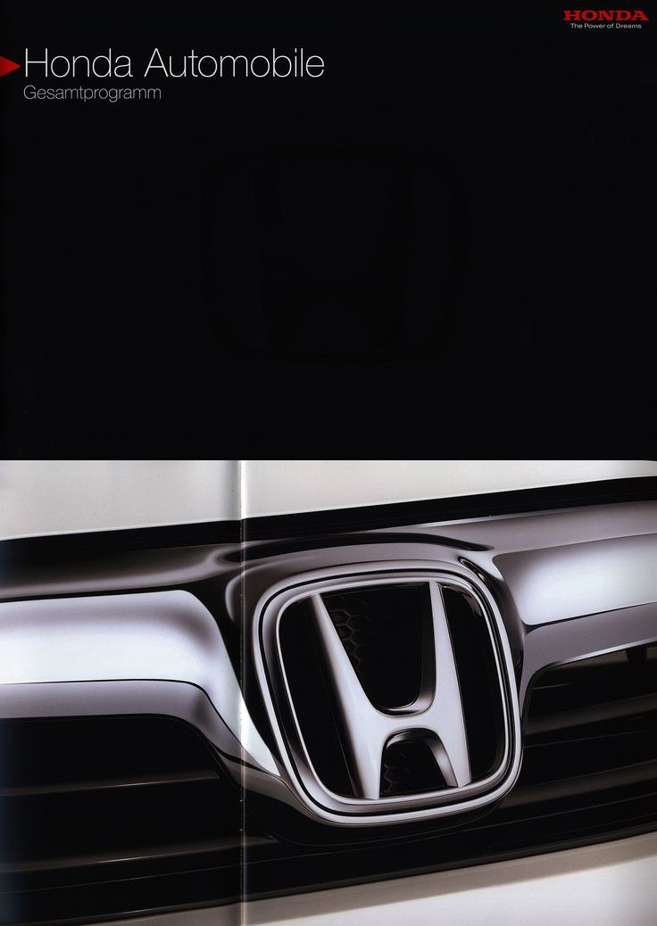 https://flic.kr/p/MS6DuS | Honda Gesamtprogramm Automobile; 2015