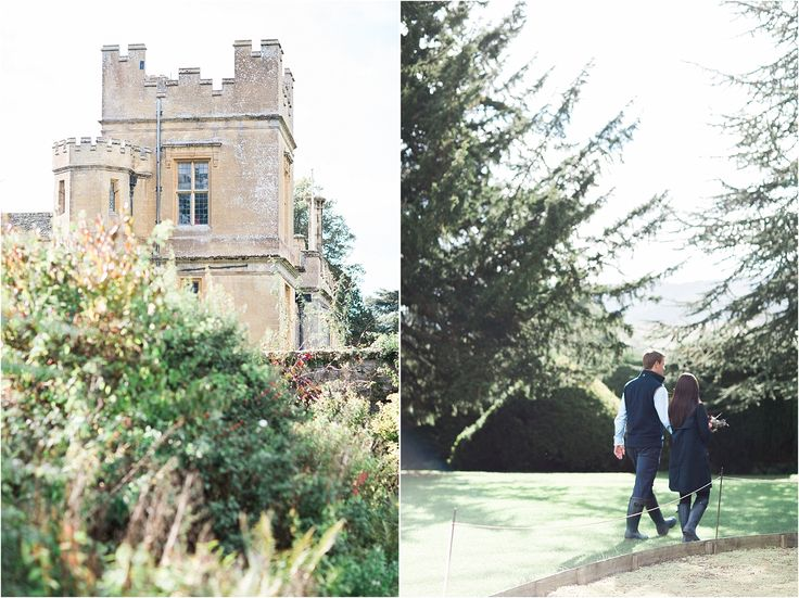 Sudeley Castle, engagement, engagement photoshoot, Cotswolds, Bowtie and Belle Photography, Autumn