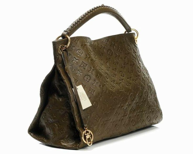 Louis Vuitton Genuine Leather Handbag M93450 - Khaki http://www.cent-store.com/louis-vuitton-2012-new-arrivals-c-1_20_9_24_27.html