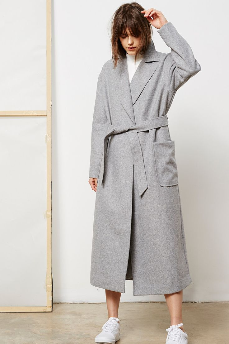Friend of Audrey  - Tranquility Oversized Coat
