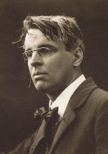 William Butler Yeats, 1911 // George Charles Beresford.