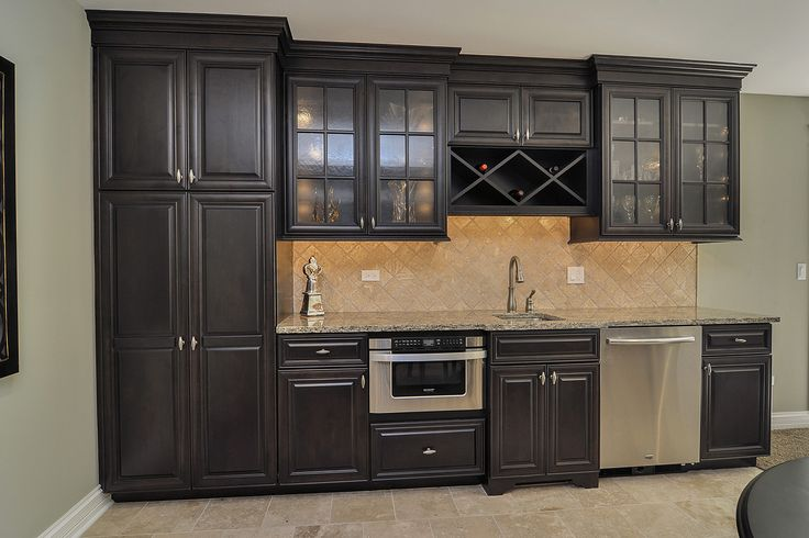 Wet Bar Pool Table Fireplace Finished Basement Remodeling Ideas Glen Ellyn Sebring Services