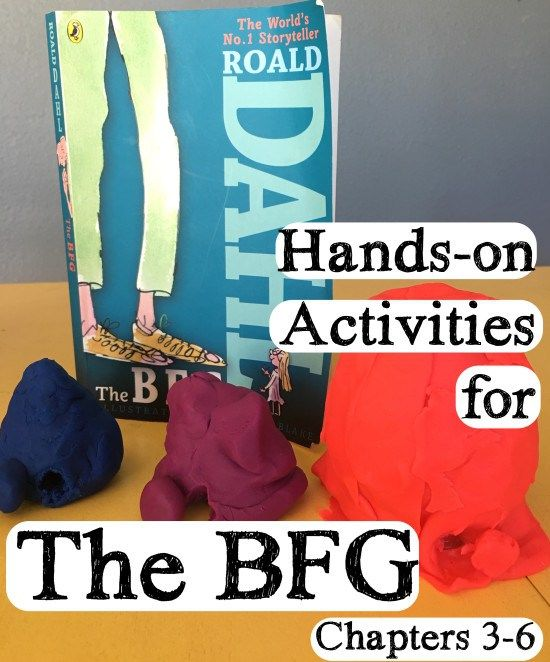 Hands-on BFG Activities for Chapters 3-6  Have some FUN!