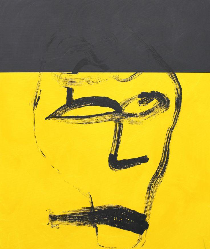 No title, acrylic on canvas, 120 x 100 cm, Maciej Zabawa