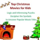 Decipher the symbols to figure out the words to famous Christmas movie titles, such as Elf, Rudolph the Red Nosed Reindeer, Santa Claus is Coming t...