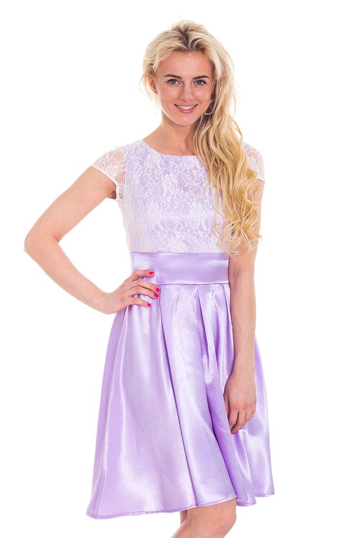 Платье атласное в пол с кружевным верхом